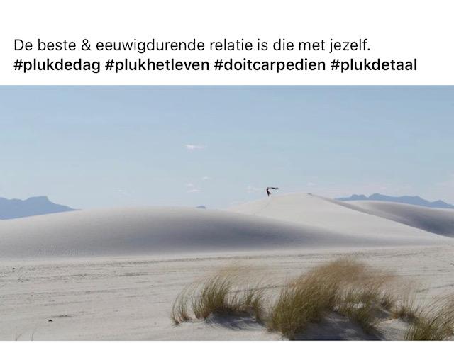 In deze prachtige omgeving – White Sands, Nieuw Mexico – is Carpe-Dien geboren!